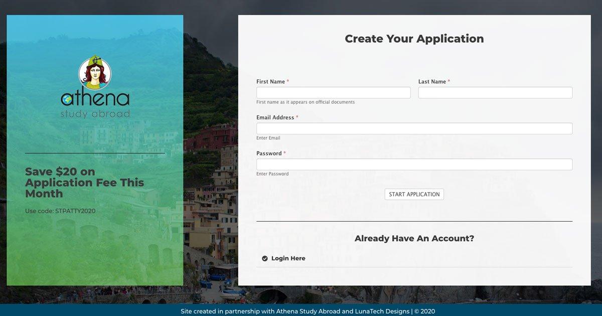 athena-study-abroad-app